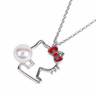 41ec6c976 Hello Kitty pendant necklace silhouette Ladies Gift Wrapping already JAPAN