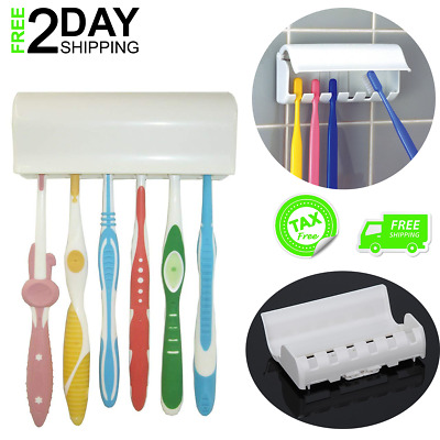 Toothbrush Double Holder Bathroom Accessories Tumbler Chrome