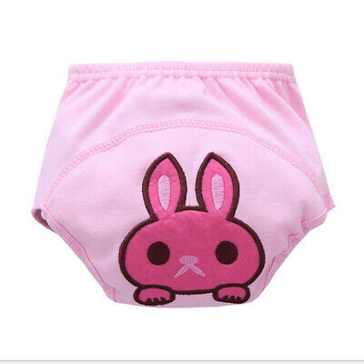 Waterproof Baby Kids Training Pants Cloth Diaper Nappy Washable Underwear S