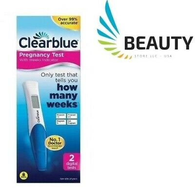 Clearblue Pregnancy Test with Weeks Indicator 2 Digital Tests