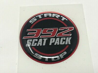 Challenger Charger Journey Starter Push Start Button Decal Emblem Scap Pack 392