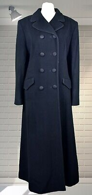 Vintage Edwardian Victorian Style Riding Coat - MANSFIELD Wool/Cashmere UK16