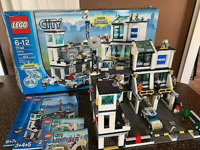 Lego City Police Headquarters 3000 Picclick