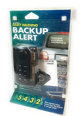 Auto Early Warning Backup Alert Sensor, Rear Mounted New