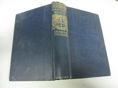 Acceptable - Barnaby Rudge and Master Humphrey's Clock - Charles Dickens  Foxing