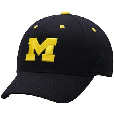 new arrival 6d7b6 94724 Michigan Wolverines Top of the World Youth The Rookie One-Fit Hat - Navy  Blue