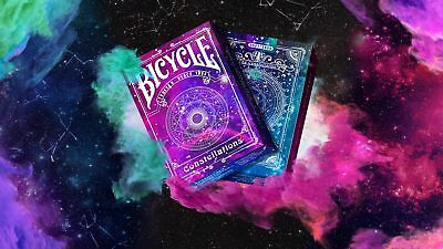 Constellations v2 [Bicycle] Playing Cards - New (only 2500) - USPCC -100% Custom
