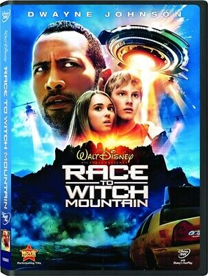 RACE TO WITCH MOUNTAIN New Sealed DVD Dwayne Johnson