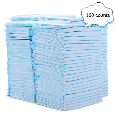 22x23 inch Pet Training and Puppy Pads, Diaper Pad for Dogs  20/50/100 Count