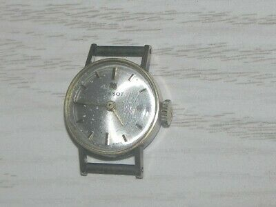 6e7164d1d25c Rare Vintage Swiss Gold Tissot Ladies Wristwatch Watch 17 Jewels Wind Up