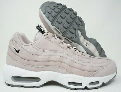 pretty nice 616f3 0a6ff Nike Air Max 95 SE Mens Running Shoes Particle Rose Black White Grey Size 10