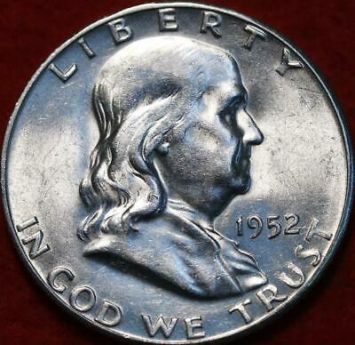 Uncirculated 1952-S San Francisco Mint Silver Franklin Half