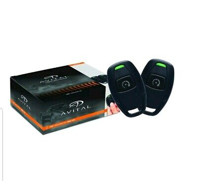 Avital 4115L 1-Button Remote Start with Unlocking (2) 1-Button Remotes D2D NEW