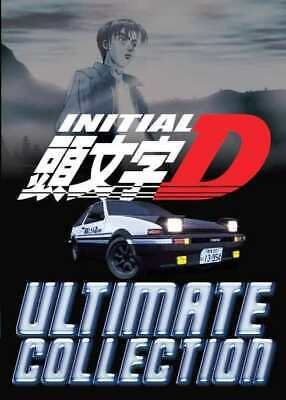 Anime DVD Initial D Series Season 1-6 + Battle Stage + Extra Stage + Legend 1-3