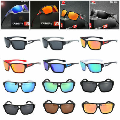 DUBERY Men's Sport Polarized Outdoor Driving Riding Fishing Goggles Sunglasses