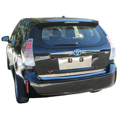 """1pc. Luxury FX Stainless 1 1/2"""" Trunk Lid Accent for 2012-2017 Toyota Prius V"""