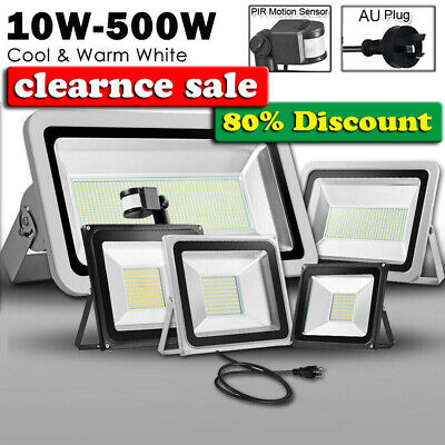 LED Flood Light 10W 20W 30W 50W 100W 150W 200W 300W 500W Outdoor Floodlight 240V