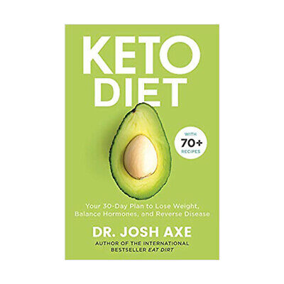 keto diet your 30-day plan to lose weight by Dr Josh axe Balance Hormones PB
