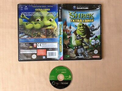 GAMECUBE Shrek Extra Large GAME CUBE NINTENDO PAL FR EN BOITE