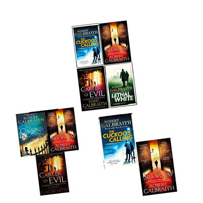 Robert Galbraith Cormoran Strike Series 1-4 books collection set Fiction New