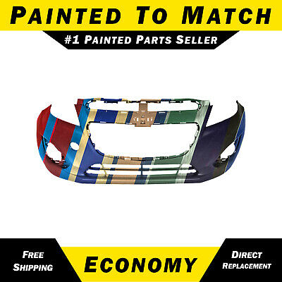 NEW Painted To Match - Front Bumper Cover Fascia for 2013-2015 Chevy Spark 13-15