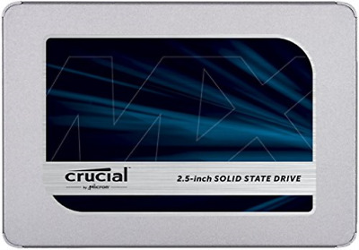 Crucial Mx500 - Solid State Drive - Encrypted - 1 Tb - Internal - 2... NEW