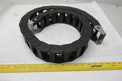 """IGUS 2-1/4""""W x 1"""" H x 54""""L  Cable/Hose Carrier Energy Drag Chain W/Ends"""