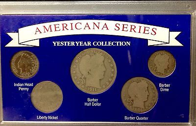 Americana Series - Yesteryear Collection - 5 Coin Set