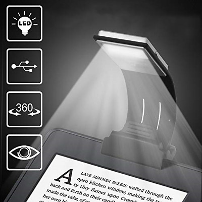 Too Goods LED Lamp USB Rechargeable Flexible Night Reading 4 Level Brightness on