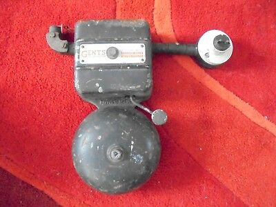 Antique/Vintage Electric Bell (Gent's of Leicester) 240 Volt