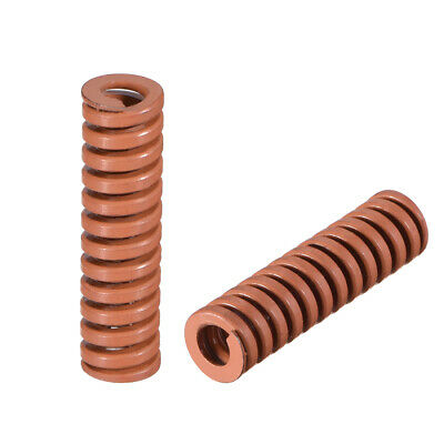 10x35mm Spiral Stamping Extra Heavy load Compression Mould Die Spring Brown 2pcs
