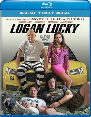 Logan Lucky [New Blu-ray] With DVD, 2 Pack, Digitally Mastered *Brand New*
