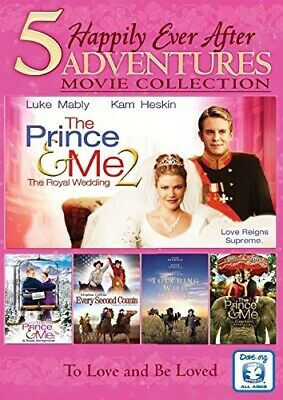 5 FILM HAPPILY EVER AFTER MOVIE COLLECTION New DVD The Prince and Me 2 3 4