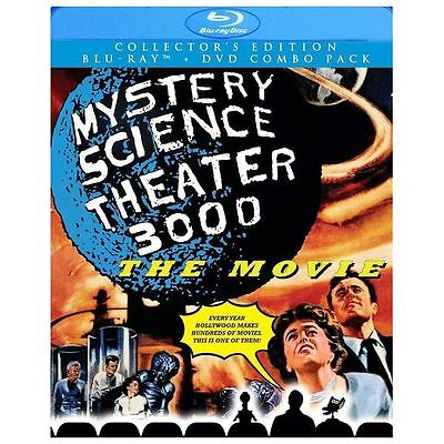MYSTERY SCIENCE THEATER 3000 THE MOVIE New Blu-ray + DVD MST3K This Island Earth