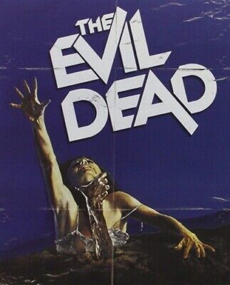 THE EVIL DEAD New Sealed Blu-ray 1981 Steelbook Packaging