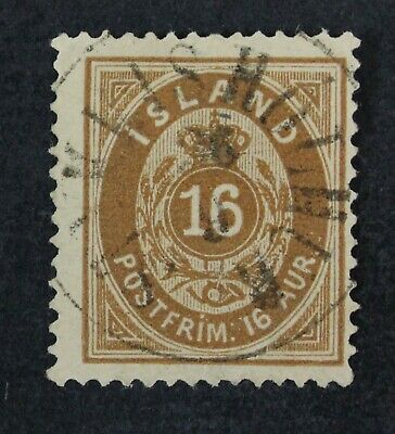 CKStamps: Iceland Stamps Collection Scott#12 Used CV$67.50