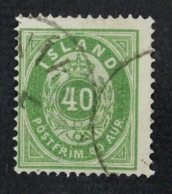 CKStamps: Iceland Stamps Collection Scott#14 Used CV$300