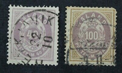 CKStamps: Iceland Stamps Collection Scott#18 20 Used