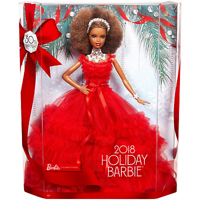 Barbie Signature 30th Anniversary 2018 Holiday Barbie Doll Mattel NEW
