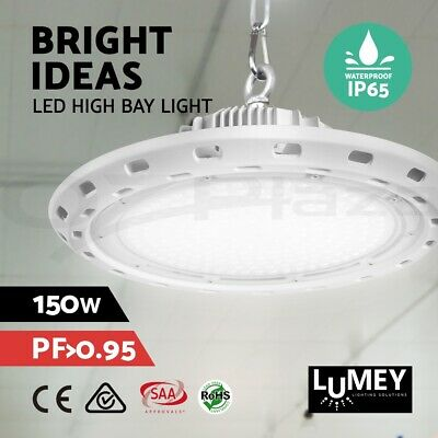 Lumey High Bay Light LED Lights Lamp Factory Warehouse Gym Industrial 150W UFO