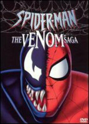 Spider -Man: Venom Saga New Dvd