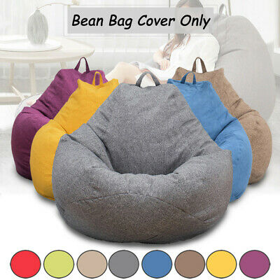 5c49a02475 Adults Extra Large Bean Bag Chair Sofa Cover Indoor Outdoor Game Seat Bean  Bag H