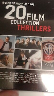 Best of Warner Bros 20 Film Collection Thrillers (DVD) free shipping