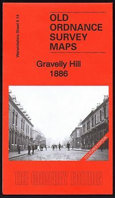 Gravelly Hill 1886, Old Ordnance Survey Maps, Warwickshire 8.14