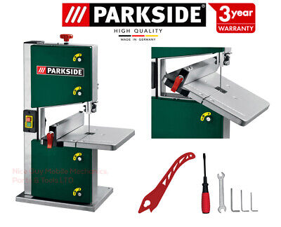 Parkside Pro Woodworking Bandsaw with Table Solid Fence & Blade WORLDWIDE POST