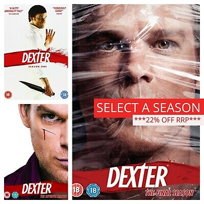 Dexter Season 1 2 3 4 5 6 7 8 (DVD) Series 1-8 Complete Box Sets TV Collections