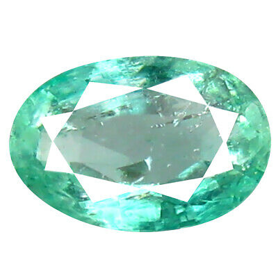 0.50 ct Romantic Oval Cut (6 x 4 mm) Colombian Emerald Natural Gemstone