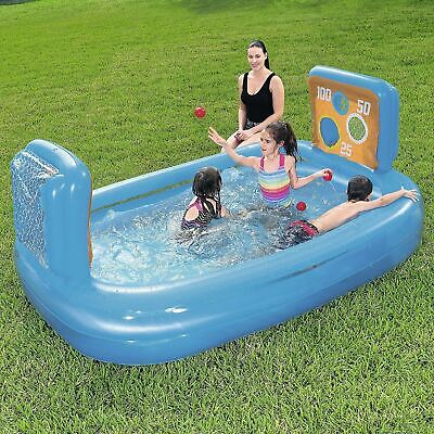 Bestway Skill Shot Play Game Inflatable Swimming Paddling Pool Ball Pit Kids 170