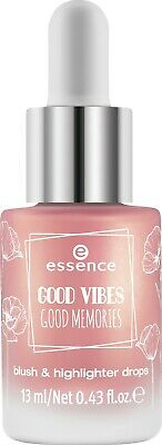 Essence Good Vibes Good Memories - Blush & Highlighter Drops 01 Bloom Day By Day