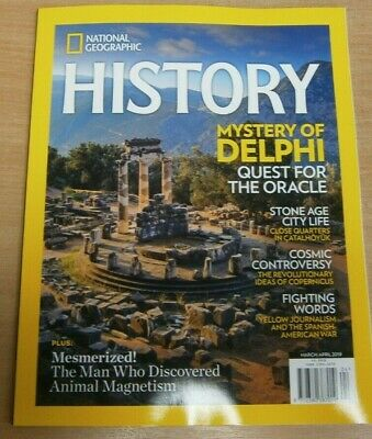 National Geographic History magazine Mar/Apr 2019 Mystery of Delphi & more